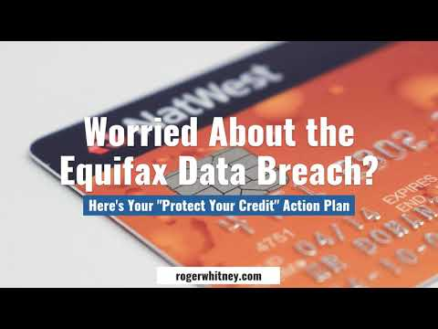 #188 - Worried about the Equifax Data Breach? Here's Your Protect Your Credit Action Plan