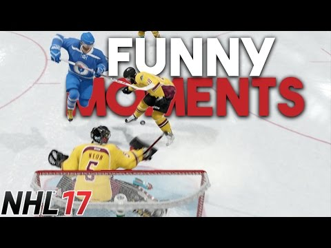 NHL 17 | EASHL FUNNY MOMENTS AND CRAZY PLAYS