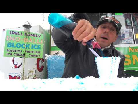 Sno-Ball Master Laments Louisiana Snow and Winter Weather With Blue Bubble Gum Truth!