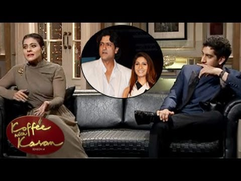 Kajol REJECTS Armaan & Tanisha ENGAGEMENT on Star World Koffee with Karan 4 16th March 2014 EPISODE