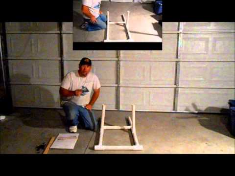 How To Make A PVC Target Stand