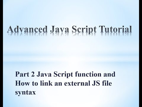 How to link to an external JS file in javascript