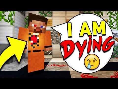 TEST STEVE IS DYING! (SCARY Survival EP19)