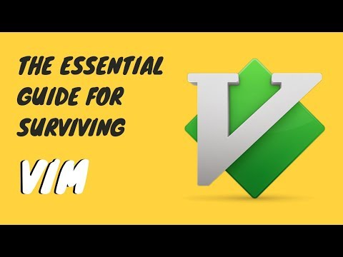 Survive Vim! Learn the Basic Vim Commands [Beginners Guide]
