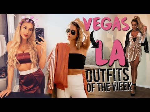 WEEK IN OUTFITS | Las Vegas To Los Angeles