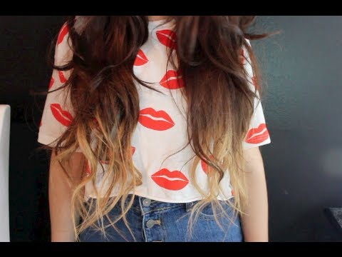 Ombre Hair Extensions!? Demo + First Impression