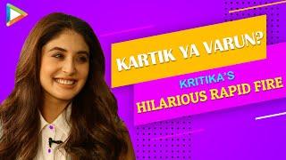 Kartik Aaryan Ya Varun Dhawan? | Alia Ya Deepika? | Kritika Kamra's HILARIOUS Rapid Fire