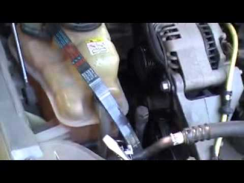 Belt Tensioner Replacement on 2003 Mercury Sable