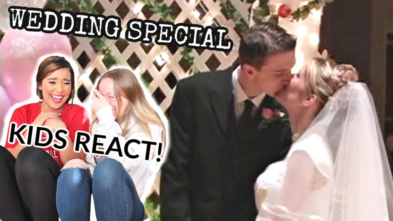 Wedding Special | Married At 17! | Kids Reaction