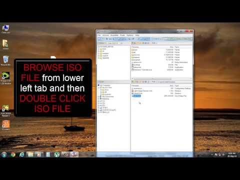 Make windows 7 bootable DVD/USB via ULTRA ISO
