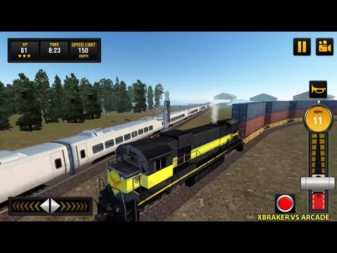 Euro Train 2018: Tourist Driving Simulator Game 3D Android Gameplay #3