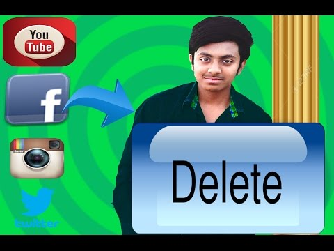 Delete your extra facebook account permanently Easy Method
