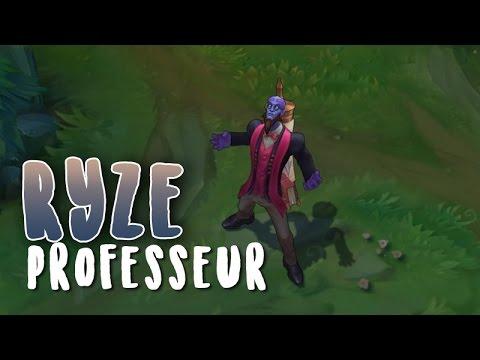 Ryze Professeur (Refonte) Aperçu Skin League of Legends