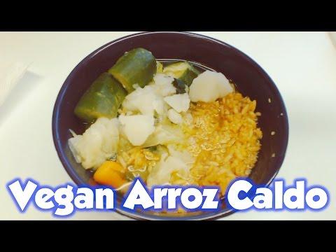 Vegan Arroz Caldo Recipe | Fast & Easy