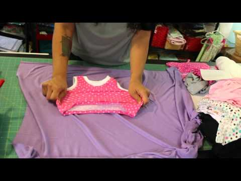 Sewing with Stretch Knit Fabric- Part 1- Basics