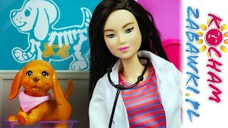 Barbie Weterynarz • Chory Piesek W Lecznicy • Bajki Po Polsku