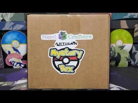 Opening a Custom Artisan Pokemon Mystery Box!
