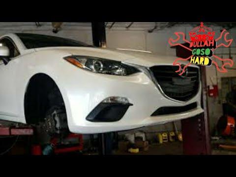 Mazda 3 front Brake replacement