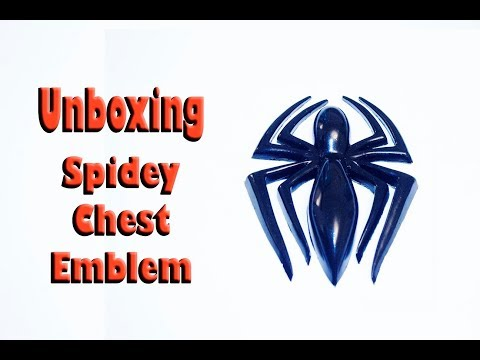 Unboxing the Spider Man Chest Emblem