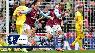 Aston Villa 2-1 Liverpool - FA Cup Semi Final   Goals & Highlights