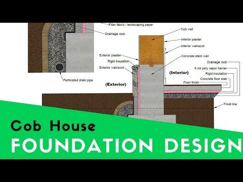 COB HOUSE FOUNDATIONS - DESIGNING A MODERN COB HOME