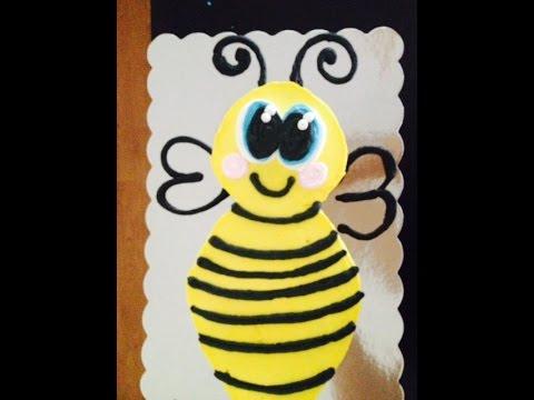Bee Cupcake Cake Video- Cake Decorating- Leah  Larson