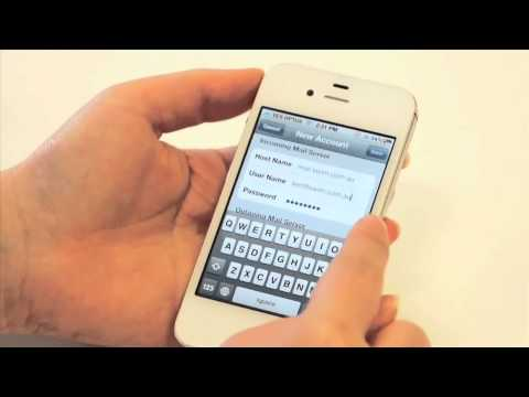 How to set up your email on iPhone in iOS5  | SWiM Communications