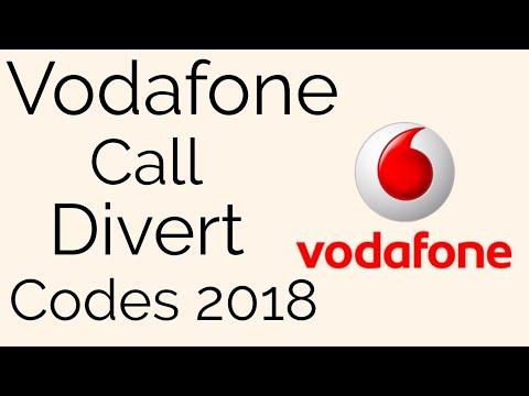 vodafone call divert codes 2018