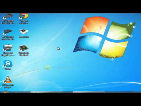 How to make icons invisible in windows 7