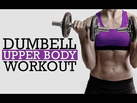 Dumbbell Upper Body Workout | No Machines | Complete Home Routine