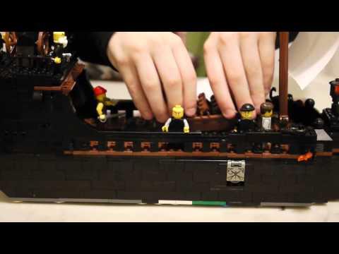 Custom Lego Pirate Ship