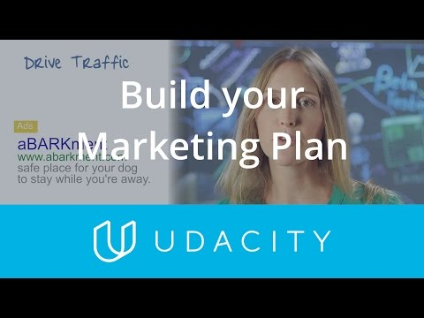 Build your Marketing Plan | Pre-Launch | App Marketing | Udacity