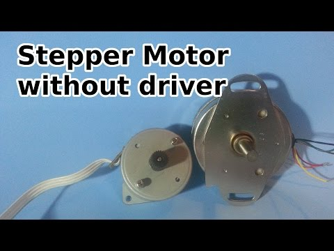 How to Run a Stepper Motor Without a Driver
