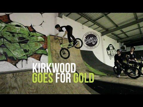 KIRKWOOD GOES FOR GOLD!!