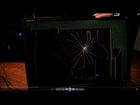 Personal Rig Update 2012 Part 15 - Dead Monitor & Bad Cable Management Linus Tech Tips