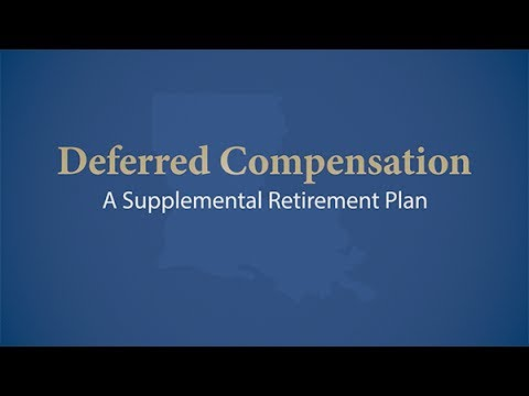 Deferred Compensation: A Supplemental Retirement Plan