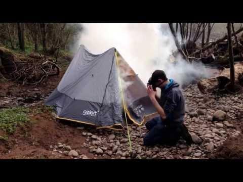 British army s10 Gas mask test
