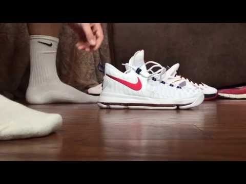 KD9 USA Impossible to get on your foot!