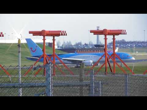 A380 and a couple of other planes taking off in the mini beast from the east @Birmingham Int