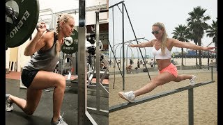 Lindsey Vonn training 2017 for Olympic season 2018   Workout routine
