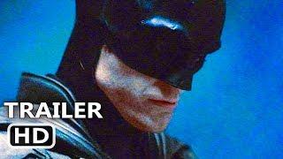 THE BATMAN First Look Trailer (4K ULTRA HD) Robert Pattinson Movie HD