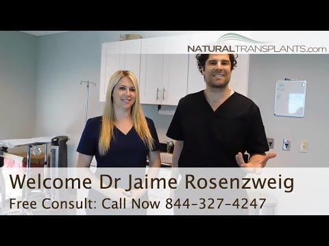 Dr Matt Huebner Welcomes Hair Doctor Dr Jaime Rosenzweig | Best Hair Transplant Doctors