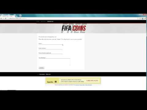 ► FIFA 13: Ultimate Team Coins Method/Hack [Free Coins] 100% Working!