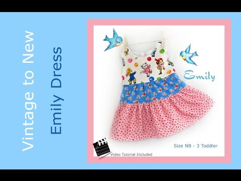 Emily Ruffle Dress - Tutorial to Emily Ruffle Dress Pattern