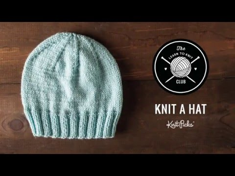 Learn to Knit Club: Learn to Knit A Hat, Full Class