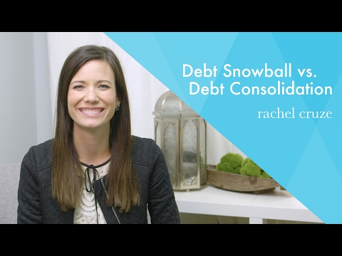 Debt Snowball vs. Debt Consolidation #AskRachel