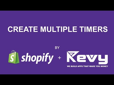 Revy Countdown Timer - Create Multiple Timers