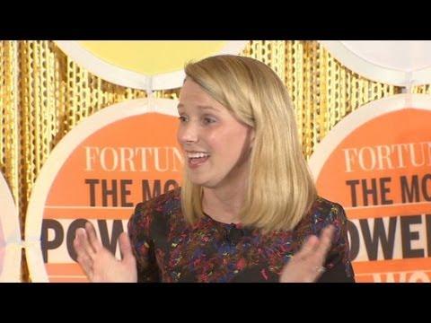 Marissa Mayer: Baby is easy, Yahoo's fun
