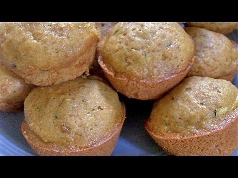 How to Make Sweet Moist Veggie Muffins (recipe tutorial)