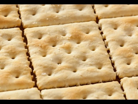How to Make Soda Crackers - Crackers Recipe